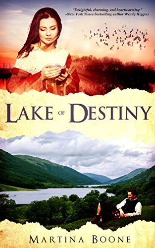 Fans of Nora Roberts, Susan Wiggs, and Diana Gabaldon will love today's Kindle Daily Deal: A heartwarming journey of healing in an unforgettable small-town setting…Lake of Destiny: A Celtic Legends Romance by Martina Boone
