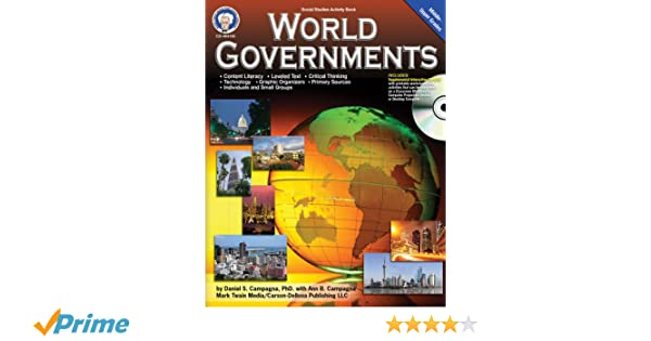 Amazon.com: World Governments, Grades 6 - 12 (Social Studies ...
