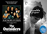 Classic Novels of S.E. Hinton Turned Critically Acclaimed Movies- The Outsiders & Rumble Fish (Criterion Collection Edition) - 2-DVD Bundle