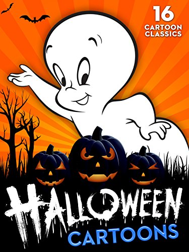 Halloween Cartoons: 16 Cartoon Classics (Funny Halloween Movie)