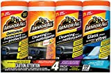 Armor All 4-Pack Wipe Multipack, Total 115 wipes
