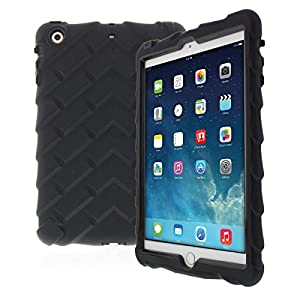 Apple iPad mini iPad mini Retina iPad mini 3 Drop Tech Black Gumdrop Cases Silicone Rugged Shock Absorbing Protective Dual Layer Cover Case