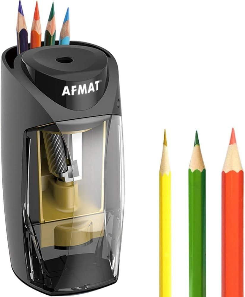 Afmat Pencil Sharpener for Colored Pencils