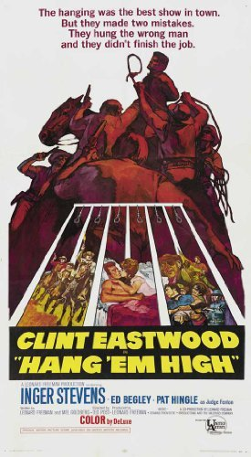 Hang Em High POSTER Movie (27 x 40 Inches - 69cm x 102cm) (1968) (Style C)