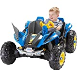 Power Wheels Riding Toys Best Deals - Ride-On Toy Battery Powered by Power Wheels Features Batman Graphics, Wing Front Fenders and Secret Storage Compartment, Multi-Colored,