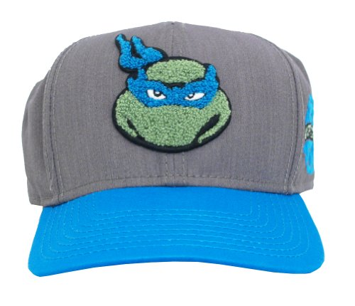 Leonardo Teenage Mutant Ninja Turtles Patch Adult Snapback Baseball Cap Hat (Ninja Turtles Sensei)