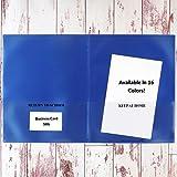 StoreSMART - School/Home Folders - Metallic Blue