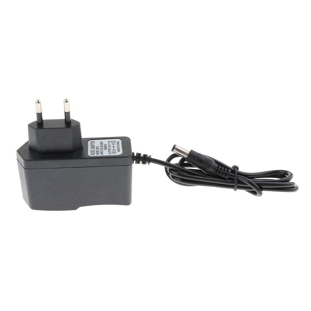 Adaptador de Corriente Continua de 9V DC 1A para Guitarra El/éctrica Cable Divisor de 3 V/ías
