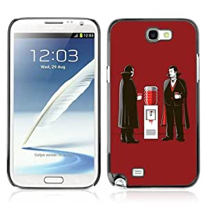 YOYOSHOP [Funny Vampire Illustration Art] Samsung Galaxy Note 2 Case