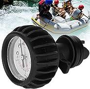 Air Pressure Gauge Barometer with Hand Pump Inflatable Boat Rafting Kayak Barometer Gauge Measurement