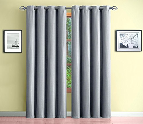Warm Home Designs 1 Panel of Long Light Gray 54