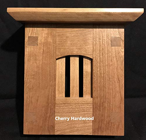 Craftsman Style Wood Doorbell Chime Cover