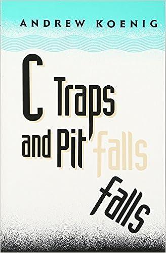 Amazon c traps and pitfalls 0785342179286 andrew koenig books fandeluxe Image collections