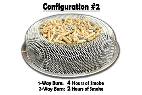 Forget the tube smokers THE NEW SMOKE RING - Circum = 25''or 16.5'' smoker 100% USA made by Smoke Daddy Inc. (Image #2)