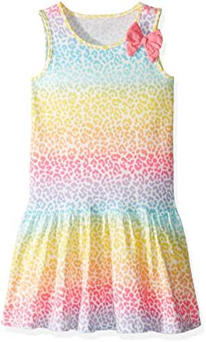 The Children's Place Unisex-Baby' Her Li'l Knit Dress with Bow
