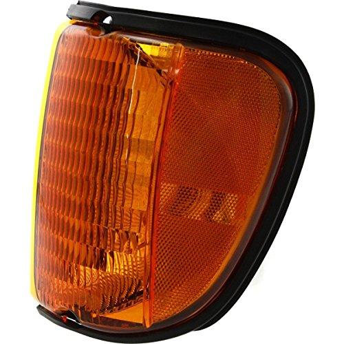 Diften 116-A1499-X01 - New Corner Light Parking Side Marker Lamp Driver Left E350 Van E150 E250 LH Hand