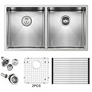 10 inch deep stainless steel kitchen sink ufaucet 32 inch 16 10 inch apron 9679