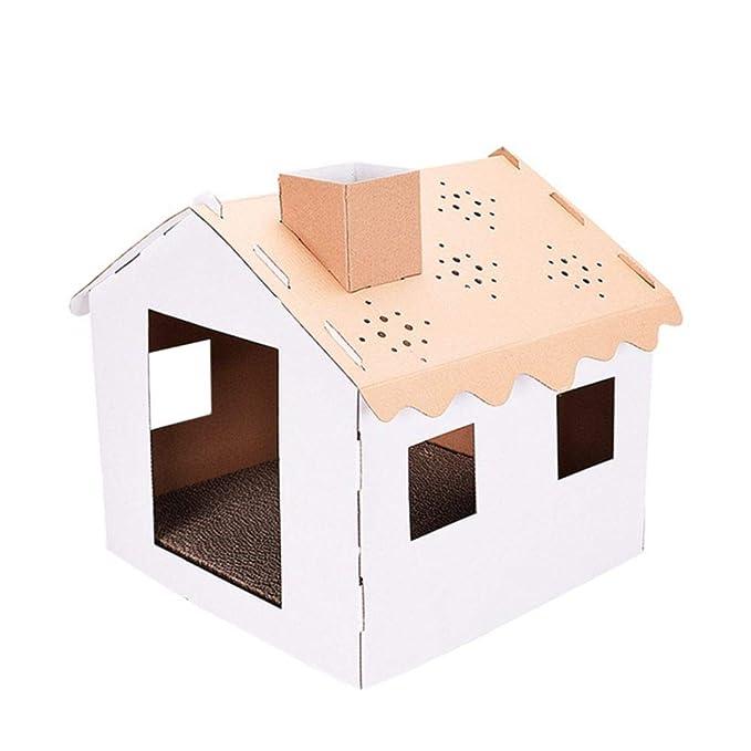 Inicio Gato Mascota Raspador Cartón Casa Torre Condo Apartamento ...