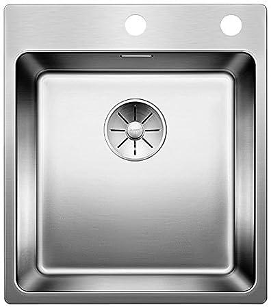 Einbauspüle Blanco Andano 700 IF Mit InFino Ablaufsystem Edelstahl  Seidenglanz; 522969 Küchenspüle Für Normalen Und Flächenbündigen Einbau