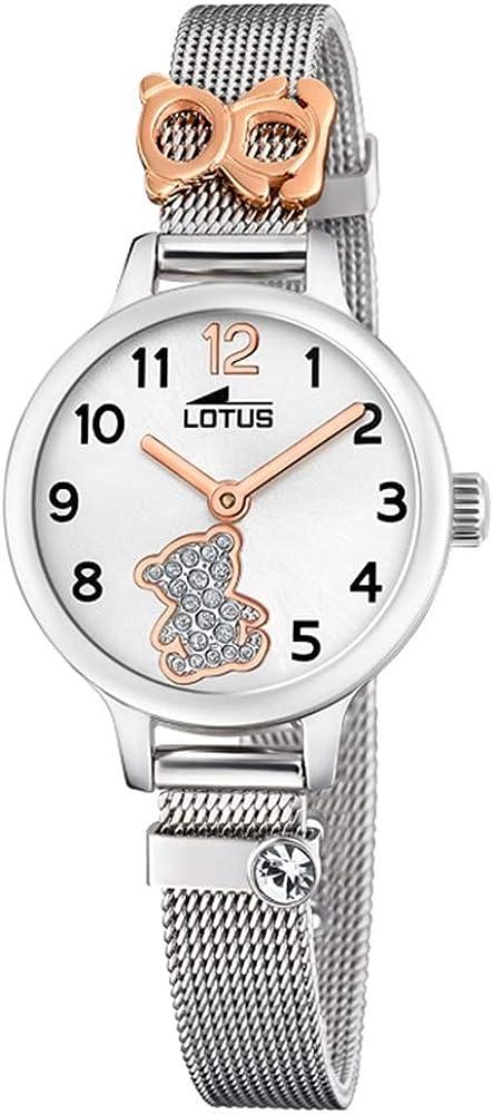 Lotus Reloj para de Cuarzo con Correa en Acero Inoxidable 18659/4