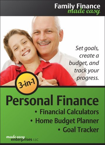 3-in-1 Personal Finance 1.0 for Windows [Download] by Made Easy Enterprises LLC