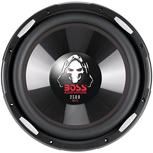 Boss Audio Systems P156DVC Phantom Series Dual Voice-Coil Subwoofer (15'') by BOSS AUDIO SYSTEMS