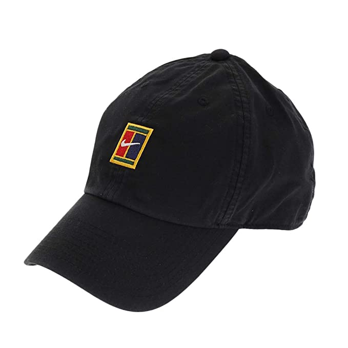 Nike Men s Aerobill Heritage 86 Hat (Black 5525f24ac053