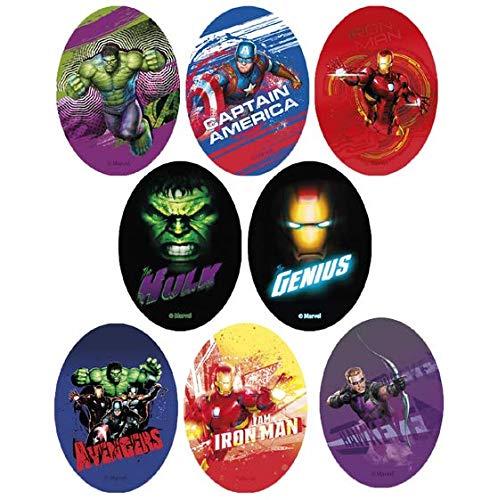 8 parches spiderman comic serigrafiados para planchar REF.6798-U8