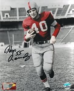 """Howard """"Hopalong"""" Cassady signed Ohio State Buckeyes 8x10 ..."""