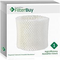 FilterBuy Replacement Humidifier Wick Filter for WF2 Kaz Vicks. Compatible to fit Kaz HealthMist humidifier Models 3020, V3100, V3500, V3500N, V3600, V3800, V3850 and V3900.