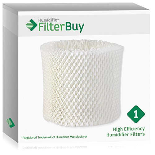 (FilterBuy Replacement Humidifier Wick Filter for WF2 Kaz Vicks. Compatible to fit Kaz HealthMist humidifier Models 3020, V3100, V3500, V3500N, V3600, V3800, V3850 and)