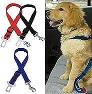 DYLANDY Pet Dog Car Vehicle Seat Belt Adjustable Safety Leash with Clip Nylon Lead Restraint Harness Safety Se