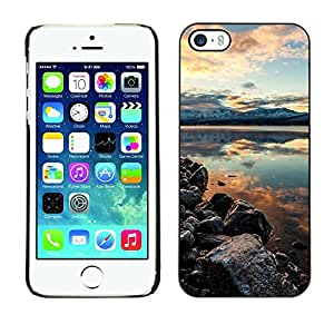 Print Motif Coque de protection Case Cover // F00003367 california color colorido niebla // Apple iPhone 5 5S 5G