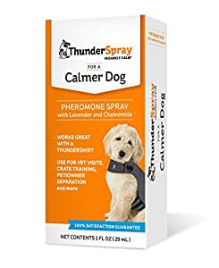 Thunderspray Calming Spray For Dogs, From The Makers of ThunderShirt