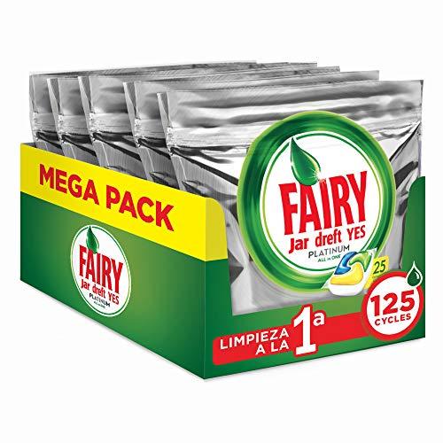 🥇 FAIRY Platinum All in One – Cápsulas para lavavajillas