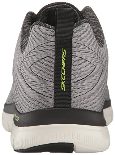 Grigio Advantage Grey 2 Happs Sneaker Flex Black Skechers 0 Light The Uomo 8qv75aw