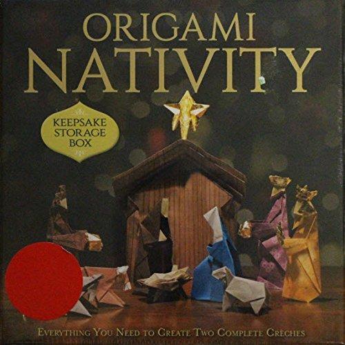 Origami Nativity Keepsake Storage Box
