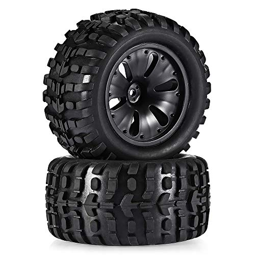 1 Pair 1:10 Scale RC Car Vehicle Monster Truck Tyre for sale  Delivered anywhere in USA