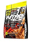 MuscleTech NitroTech Protein Powder Plus Muscle Builder, 100% Whey Protein with Whey Isolate, Milk Chocolate, 103 Servings (10lbs)