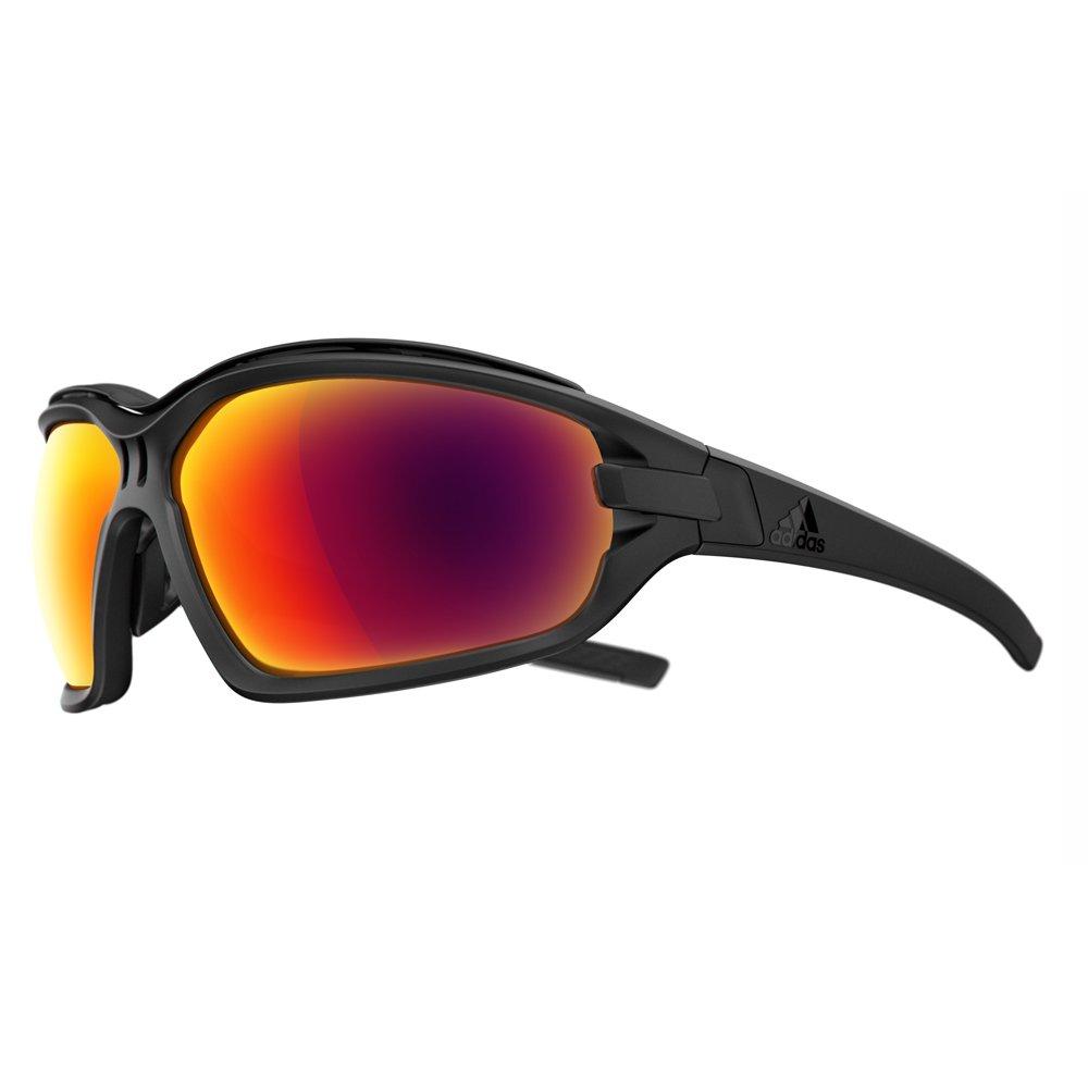 outlet store c75f5 df0c6 Amazon.com  adidas Evil Eye Evo Pro L Sunglasses 2018 Black Matte Red  Mirror  Sports  Outdoors