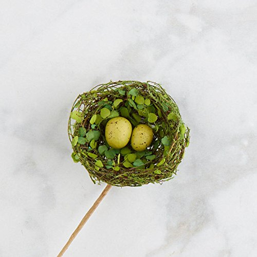 Factory Direct Craft Mossy Artificial Twig Birds Nest