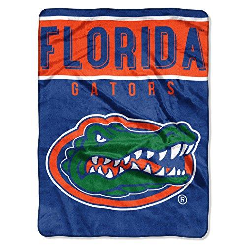 The Northwest Company Officially Licensed NCAA Florida Gators Basic Plush Raschel Throw Blanket, 60