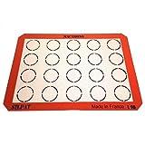 Silpat AE420295-22 Macaron Mat, Orange