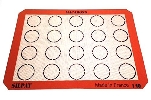 Silpat AE420295-22 Macaron Mat