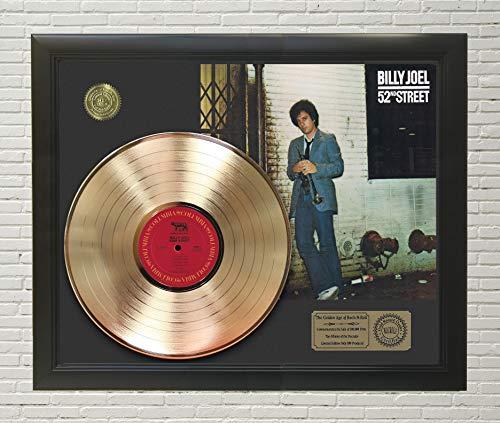 Billy Joel 52nd Street Framed Gold LP Display -