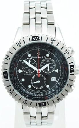 Vandenbroeck & Cie Herren-Armbanduhr Chronograph Quarz Edelstahl VC-HQ22073-900