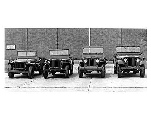 1941 to 1952 Willys Military Jeep MA MB M38 M38A1 Factory for sale  Delivered anywhere in USA