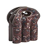 6 pack cooler neoprene - BUILT NY Six-Pack Insulated Neopreane Beer Bottle Tote, Tweed Camo