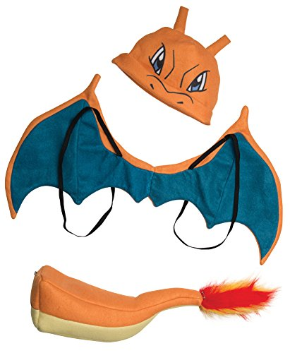 Pikachu Costume Ideas (Rubie's Pokémon Charizard Child Costume Kit, As Shown, One)