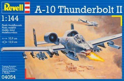 Revell 4054 A-10A Thunderbolt - Maqueta de avión: Amazon.es ...